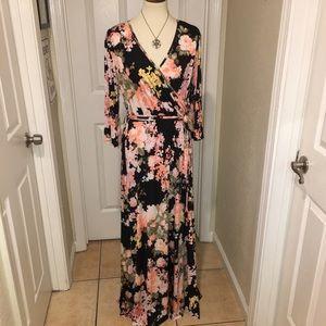 Long Maternity dress 3X